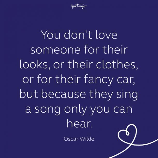 cute love quote by Oscar Wilde