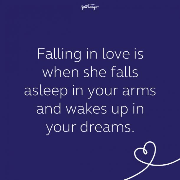 cute love quote by