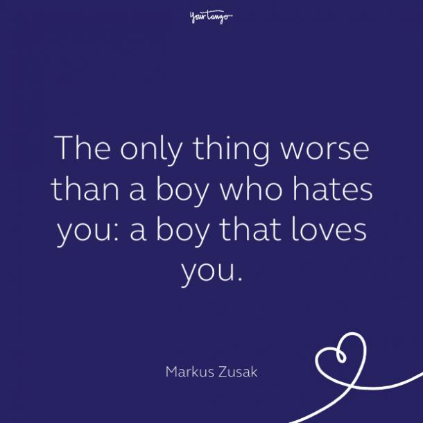cute love quote by Markus Zusak