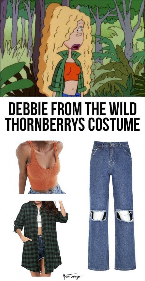 debbie thornberry last minute halloween costumes