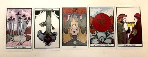 December 2020 Tarot Card Reading 1