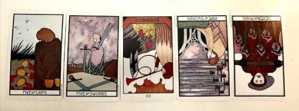 December 2020 Tarot Card Reading 2