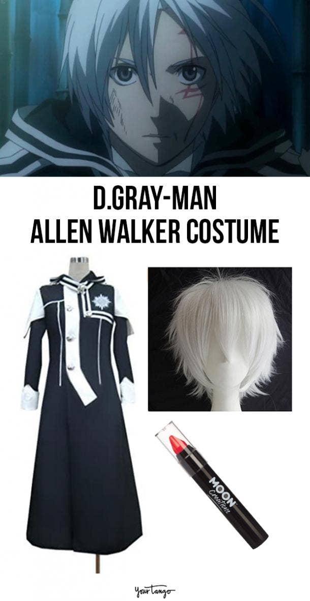 Allen Walker Blue Exorcist Halloween Costume