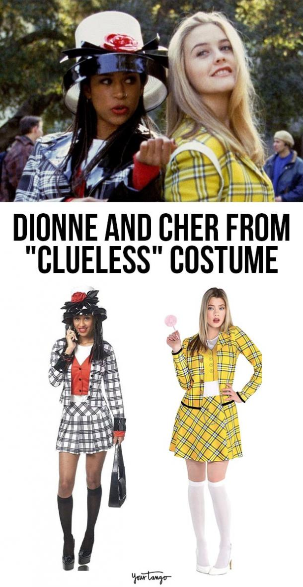 dionne and cher clueless last minute halloween costumes