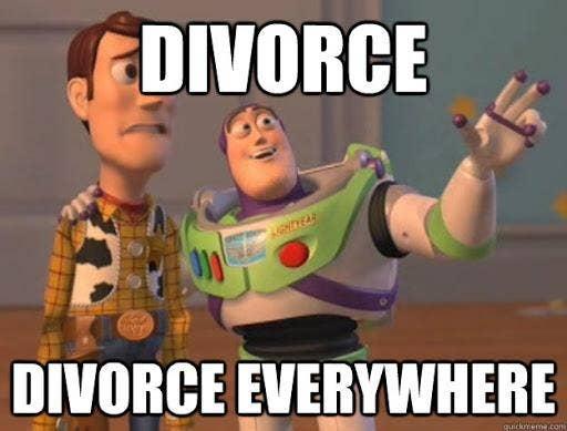 divorce everywhere toy story meme