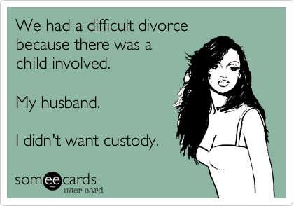divorce meme
