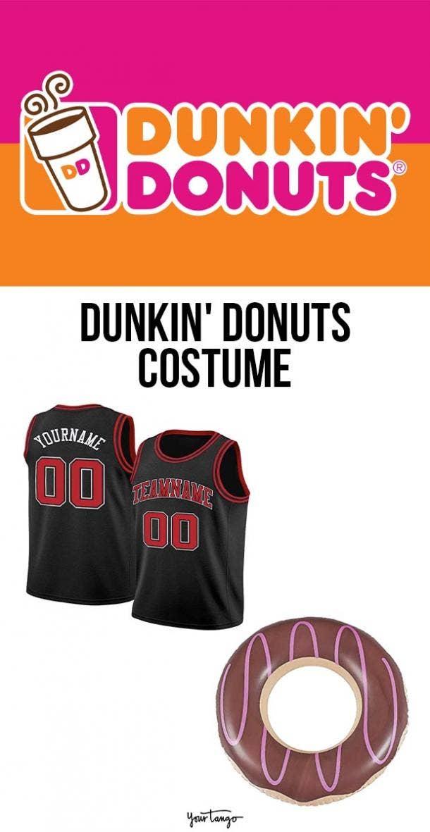 dunkin donuts last minute halloween costumes
