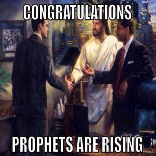 easter memes prophets rising