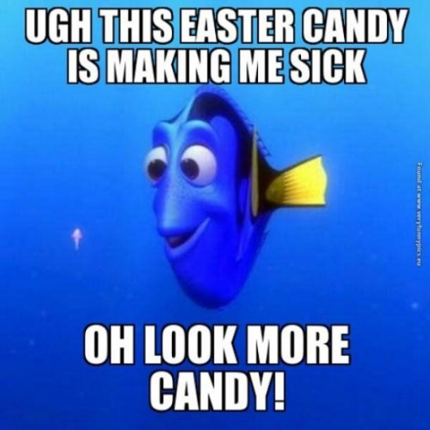 easter memes dory candy
