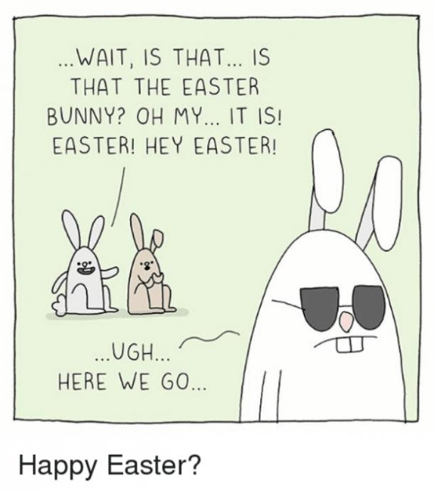 easter memes is that the easter bunny