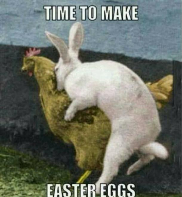 easter memes time to make easter eggs
