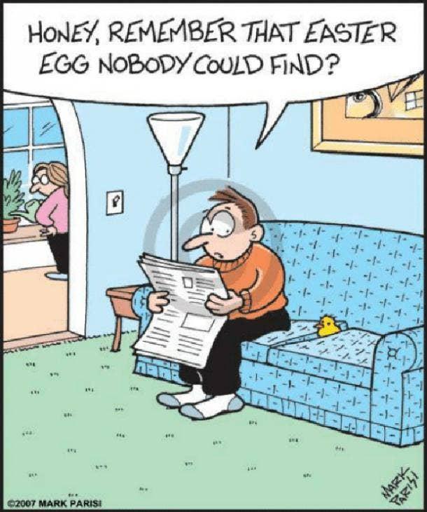 easter memes mark parisi easter egg nobody could find