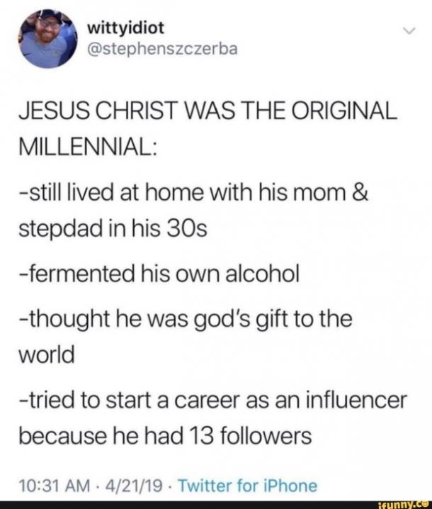 easter memes og millennial