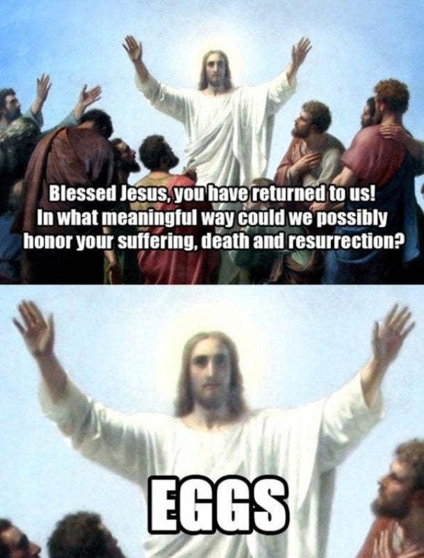 easter memes resurrection