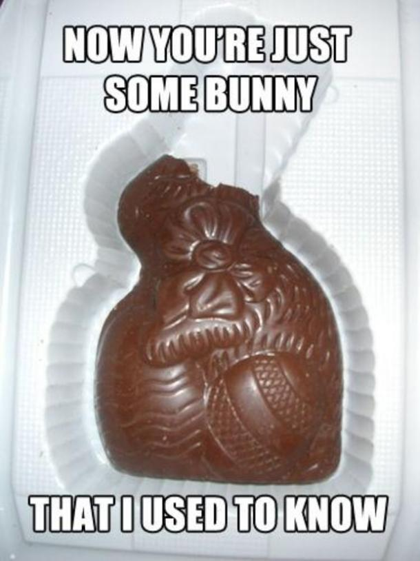 easter memes some bunny I used to know