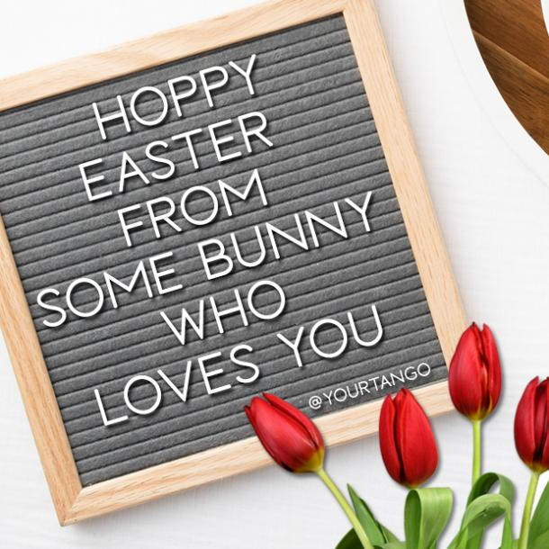 happy easter letter board quote ideas