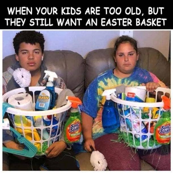 easter memes too old for basket