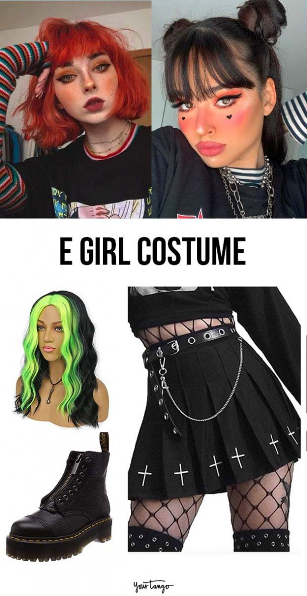 "Tiktok ""E-girl"" Costume Inspiration"