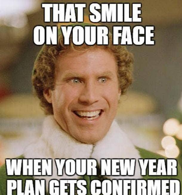 elf funny new year meme
