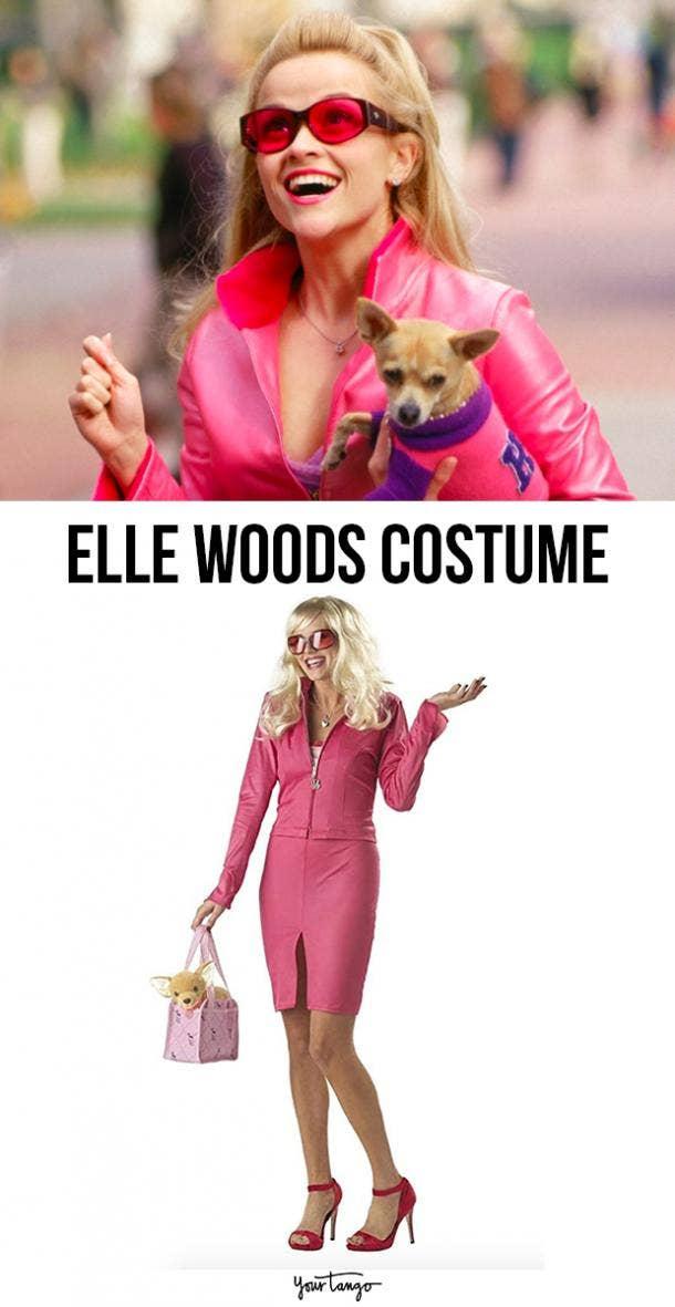 elle woods last minute halloween costumes