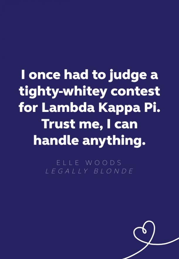 elle woods legally blonde quote