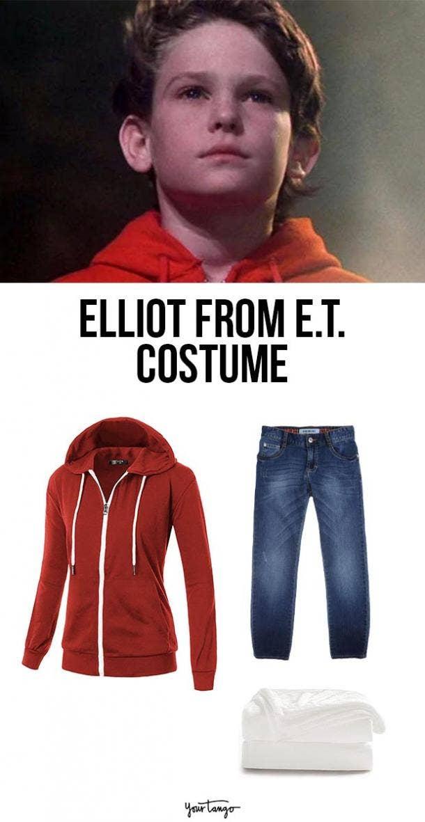 ET elliot last minute halloween costumes