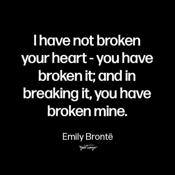 emily bronte i cant do this anymore quotes