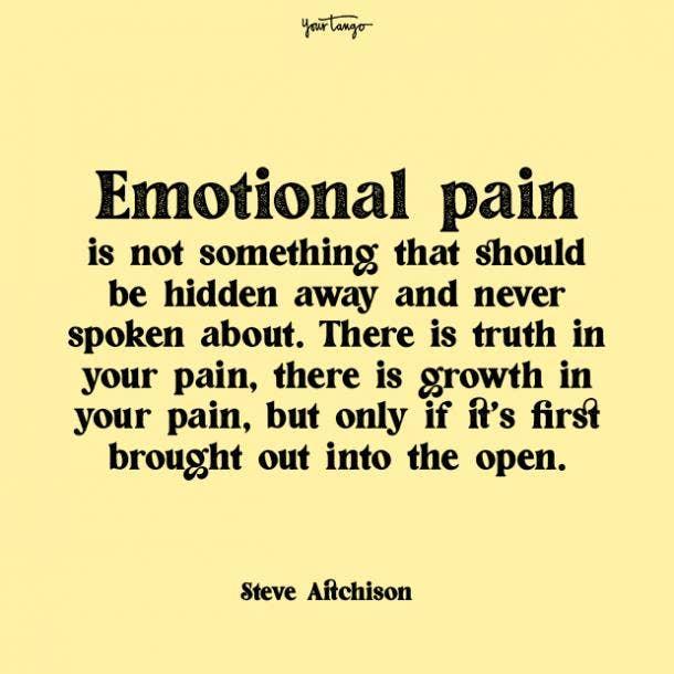 Steve Aitchison mental health quote