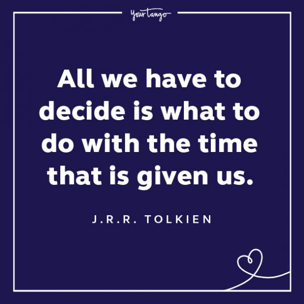 J.R.R. Tolkien words of encouragement quotes