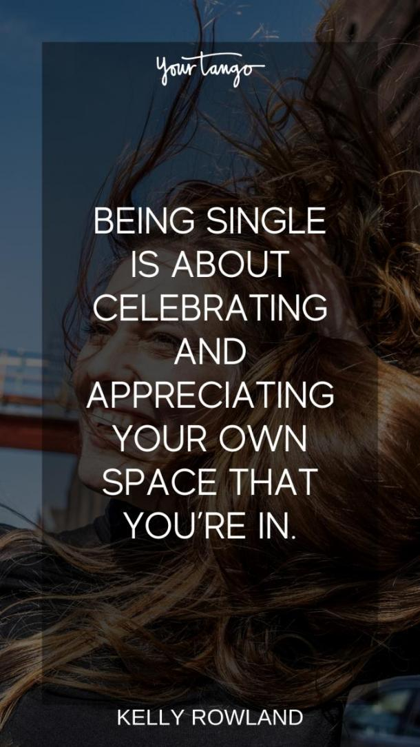 embrace being single empowering quotes