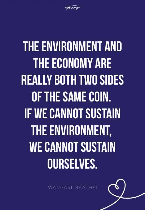 Wangari Maathai environment quotes