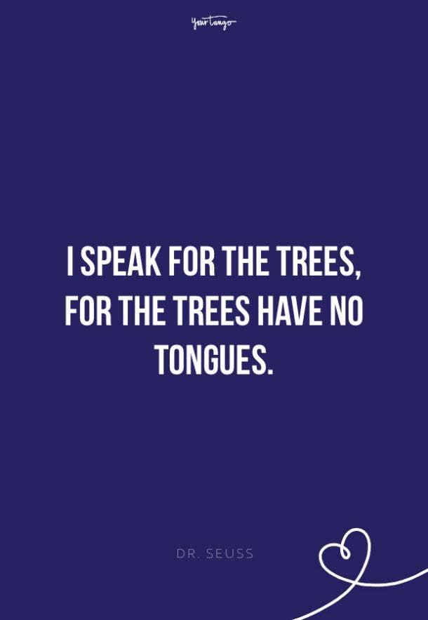 Dr. Seuss environment quotes