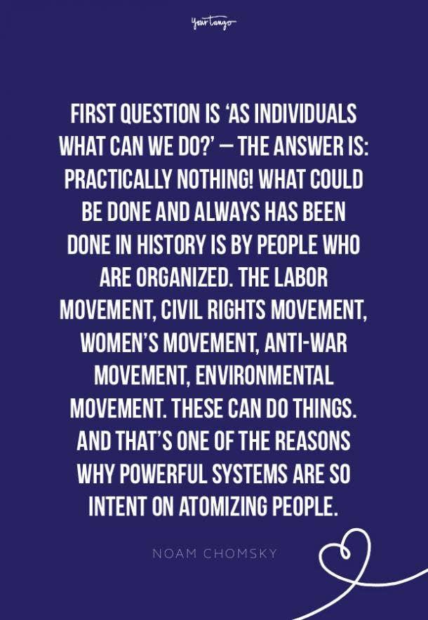 Noam Chomsky environment quotes