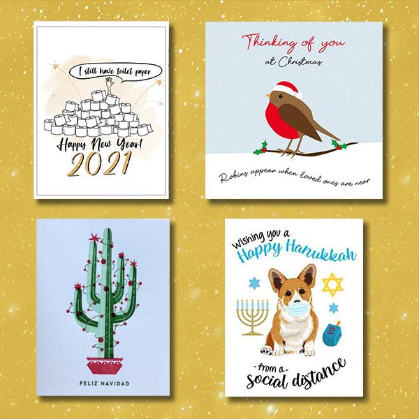Etsy Holiday Cards