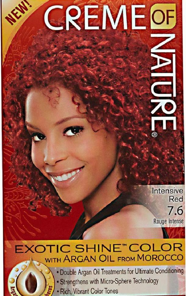 Exotic Shine Hair Color in Intensive Red by Creme of Nature