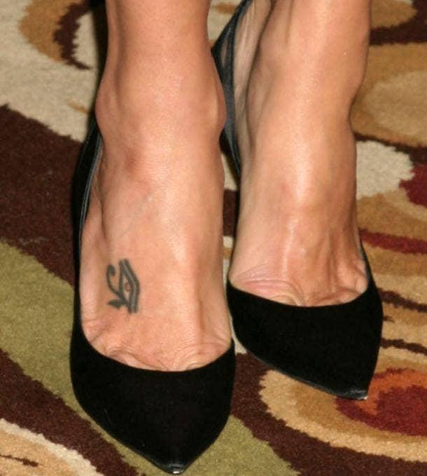 eye of horus tattoo idea for women