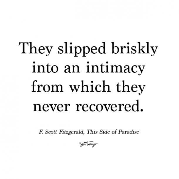 f scott fitzgerald this side of paradise romantic quotes