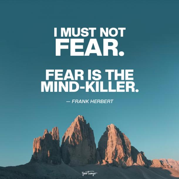 frank herbert fear quotes