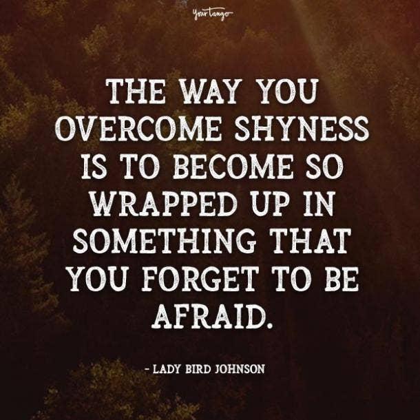 lady bird johnson fear quotes