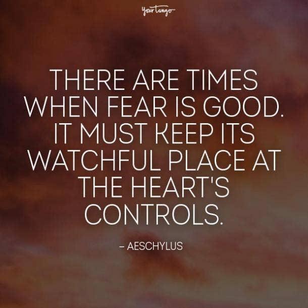 aeschylus fear quotes