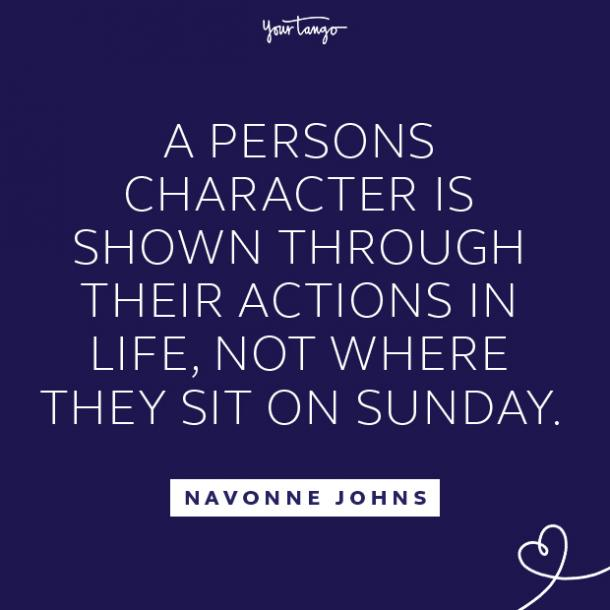 Navonne Johns fake people quotes