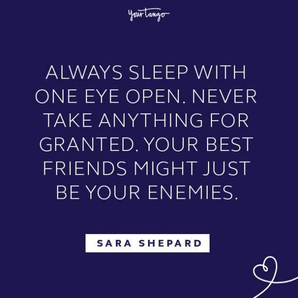 Sara Shepard fake people quotes