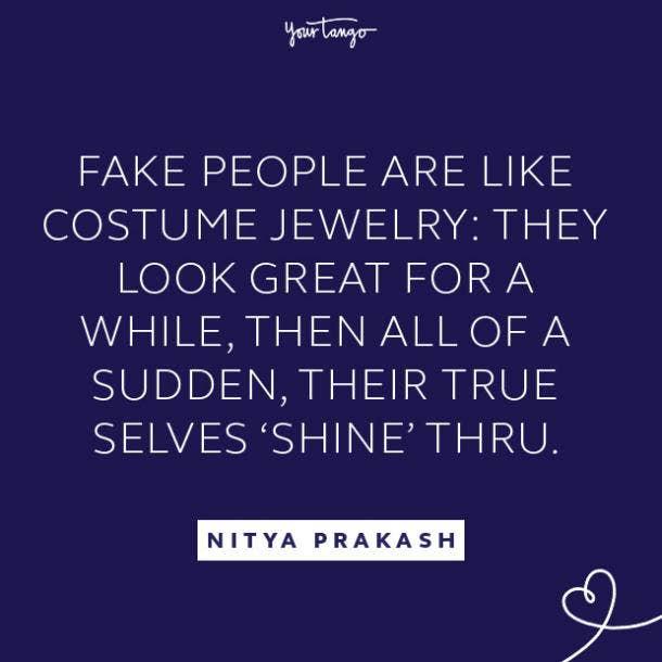 Nitya Prakash fake people quote