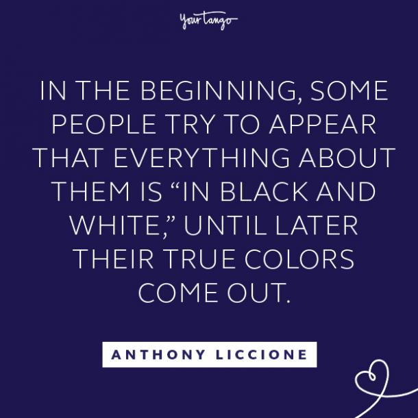 Anthony Liccione fake people quotes