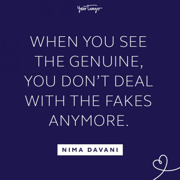 Nima Davani fake people quotes