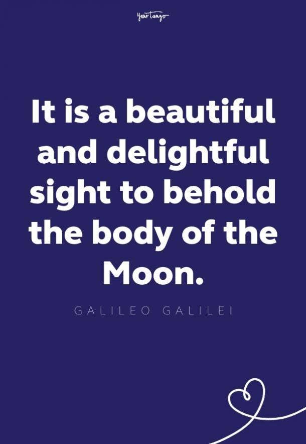 galileo galilei moon quote