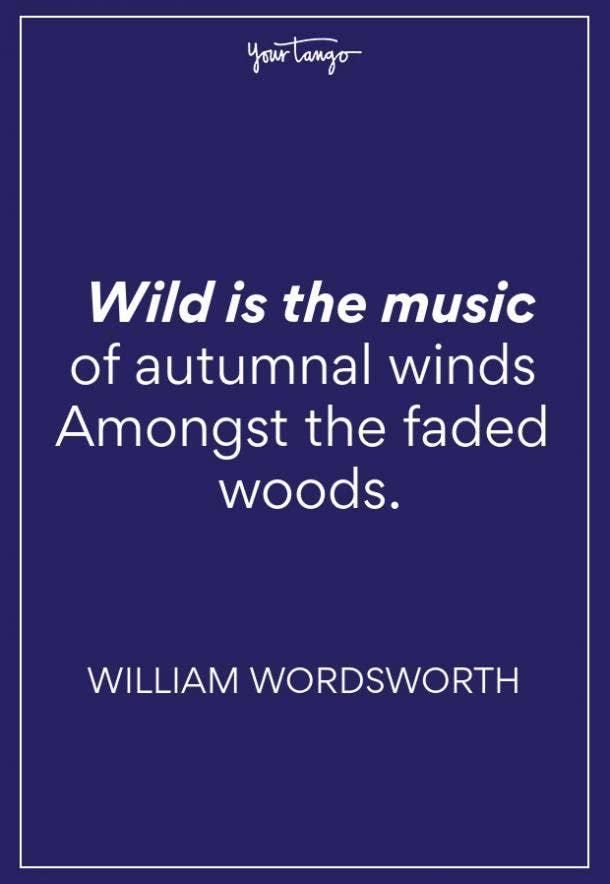 William Wordsworth Fall Quotes