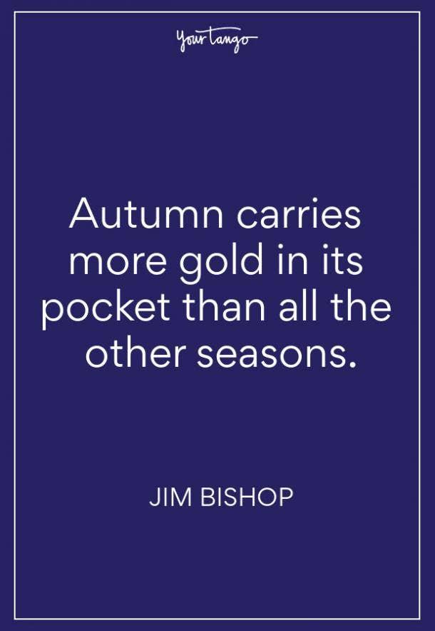 Jim Bishop Fall Quote