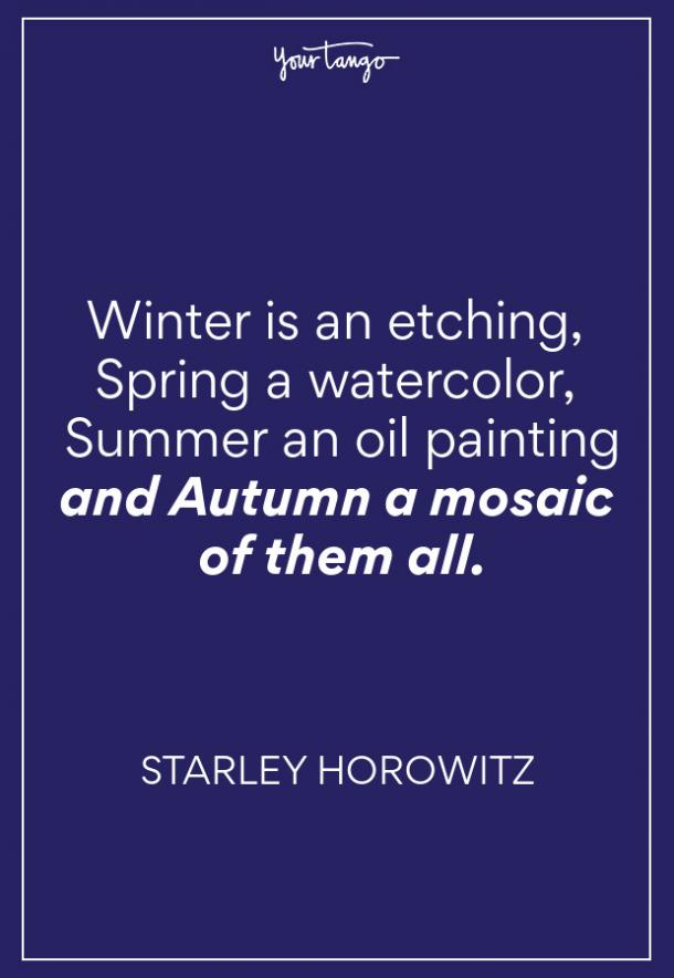 Starley Horowitz Fall Quote