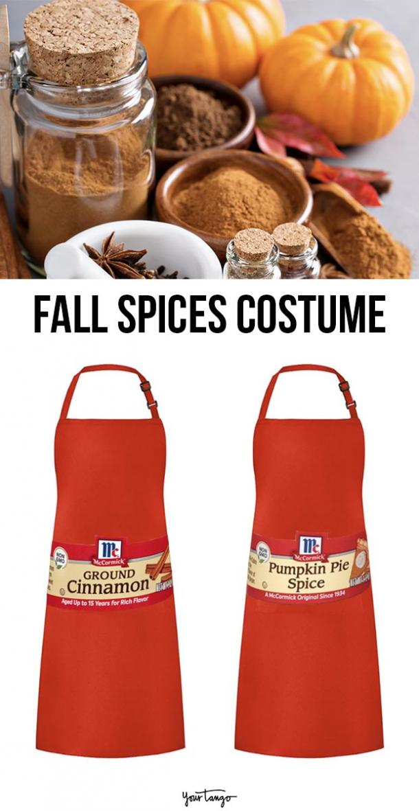 fall spices last minute halloween costumes